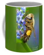 Honeybee On California Lilac Coffee Mug