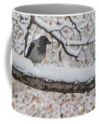 Hooded Crow First Snow Coffee Mug