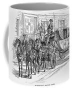 Horse-drawn Coach Coffee Mug