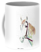 Horse Study Coffee Mug