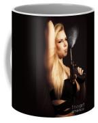 Hot Shot Woman Coffee Mug