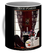 House And Garden Annual Building Number Cover Coffee Mug