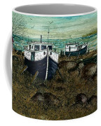 House Boats Coffee Mug