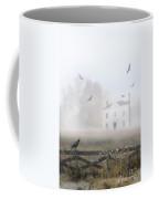 House In Fog Coffee Mug