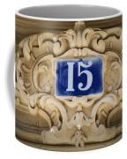 Building Number - Paris Coffee Mug