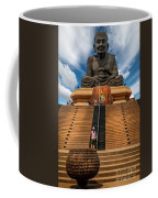 Huay Mongkol Temple Coffee Mug by Adrian Evans