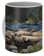 Hudson River Coffee Mug by Winslow Homer