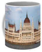 Hungarian Parliament Building In Budapest Coffee Mug