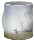 Hunting Scene Coffee Mug by Ninetta Butterworth