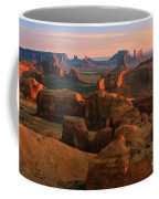 Hunts Mesa In Monument Valley Coffee Mug