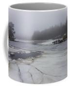 Ice And Fog And The Ipswich River Coffee Mug