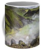 Iceland Steam Valley Coffee Mug