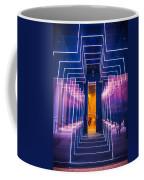 Illuminated Cross Coffee Mug