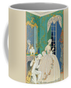 Illustration For 'fetes Galantes' Coffee Mug