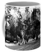 Indian Women Carrying Heavy Loads Along The Highway Coffee Mug