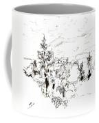 Ink Sketch Coffee Mug