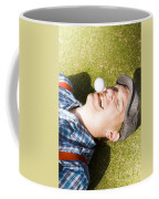 Insane Sport Nut Crazy About Golf Coffee Mug