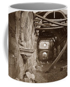 Interior Of Old Mission Church At Carmel Mission California  Circa 1880 Coffee Mug