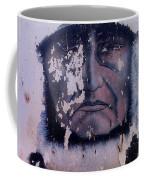 Iron Eyes Cody Homage The Big Trail 1930 The Crying Indian Black Canyon Arizona 2004 Coffee Mug