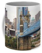 John Roebling Bridge 1867 Coffee Mug