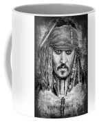 Johnny Depp Coffee Mug by Andrew Read