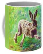 Joyful Hare Coffee Mug