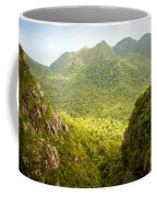 Jungle Landscape Coffee Mug