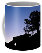 Juniper Tree At Dawn Coffee Mug
