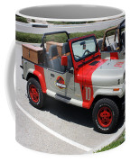 Jurassic Park Jeeps Coffee Mug