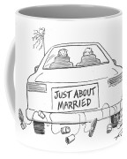 Just About Married Coffee Mug