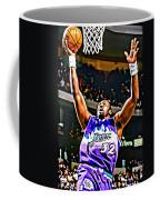 Karl Malone Coffee Mug by Florian Rodarte