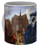 Keeshond Art Canvas Print Coffee Mug