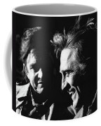 Kirk Douglas Laughing Johnny Cash Old Tucson Arizona 1971 Coffee Mug