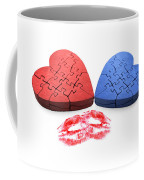 Kisses From The Heart Coffee Mug