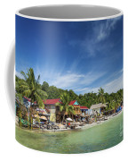 Koh Rong Island Beach Bars In Cambodia Coffee Mug