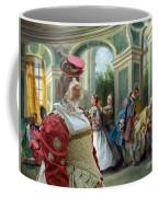 Korthals Pointing Griffon Art Canvas Print  Coffee Mug