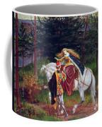 La Belle Dame Sans Merci Coffee Mug by Walter Crane