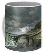 La Pointe De La Heve At Low Tide Coffee Mug