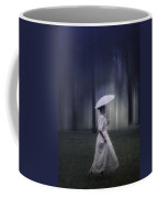 Lady In The Woods Coffee Mug by Joana Kruse