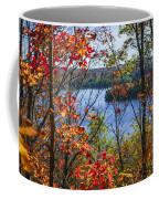 Lake And Fall Forest Coffee Mug