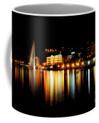 Lake At Night Coffee Mug