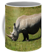 Lake Nakuru White Rhinoceros Coffee Mug