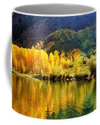 Lake Reflection In Fall  Coffee Mug