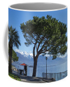 Lakeside With Trees Coffee Mug