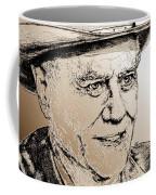 Larry Hagman In 2011 Coffee Mug by J McCombie