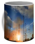 Launch Of Soyuz Vs07 2014 Coffee Mug