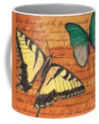 Le Papillon 3 Coffee Mug