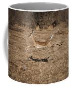 Leaping Impala Coffee Mug