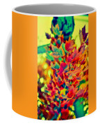 Leaves In Abstract Coffee Mug