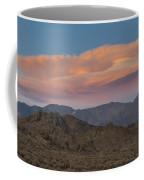 Lenticular Clouds Over Alabama Hills Coffee Mug